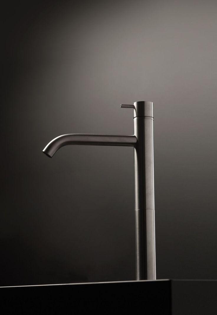 Waschtisch Einhebelmischer / Aus Metall / Für Badezimmer / 1 Loch  DIAMETRO35 INOX 4