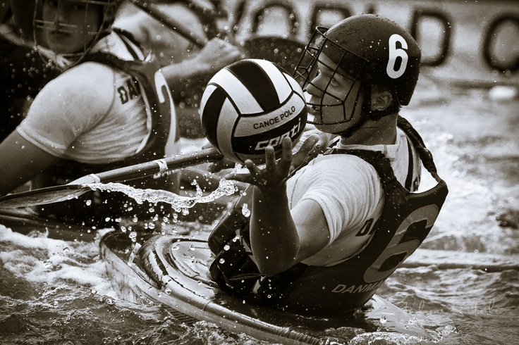 Tough game this Canoe Polo