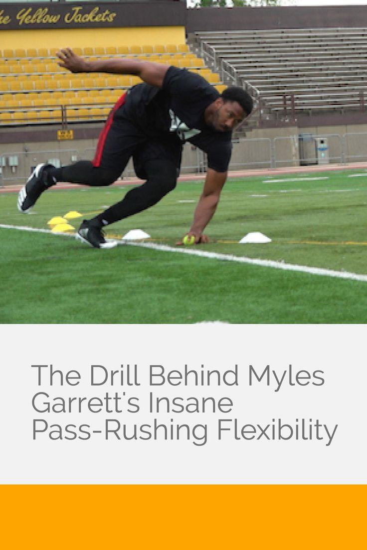 The Drill Behind Myles Garrett's Insane Pass-Rushing Flexibility