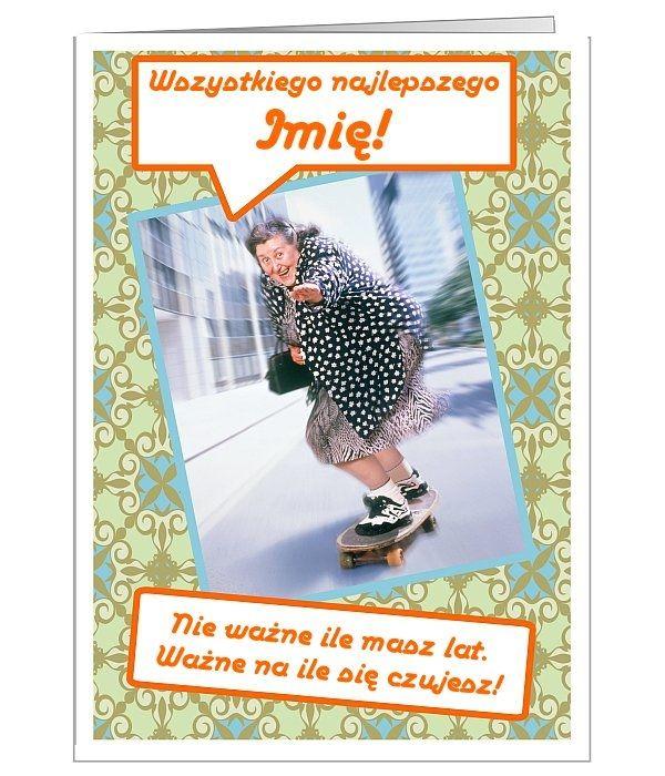 Kartka z ważnym, urodzinowym przesłaniem :)