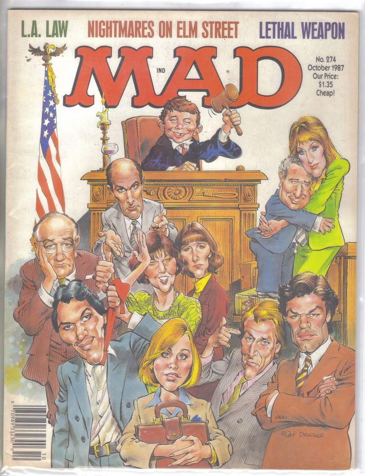 Mad Magazine No.274 October 1987