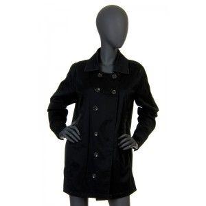 Diesel - czarny płaszcz