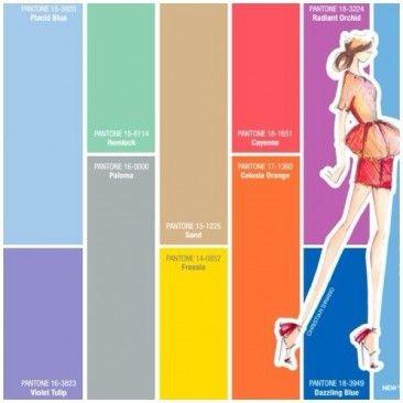 Primavera Estate 2014:  ecco i colori