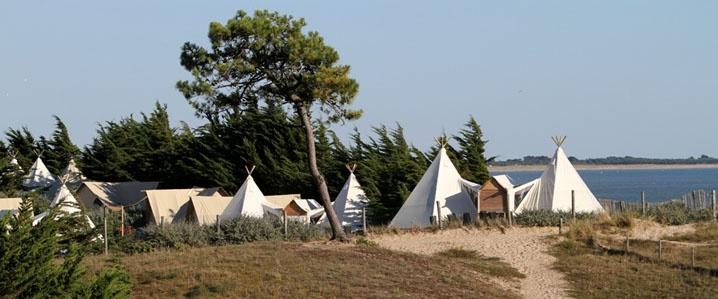 prachtige camping op ile de noirmoutier frankrijk. Black Bedroom Furniture Sets. Home Design Ideas