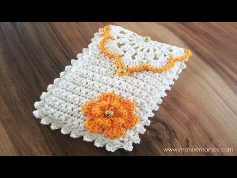 Na aula de hoje, Neila Costa ensina um lindo case para celular feito com Charme!Material:1 novelo de Charme nas cores: 8176, 4146Cola UniversalTesouraBotões douradosAgulha de crochê Soft tamanhos: 3,5 e 2,5