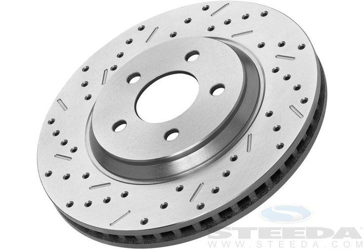 Steeda Complete Front & Rear Brake Kit GT (05-10) / Bullitt (08-09) / V6 (11-14)