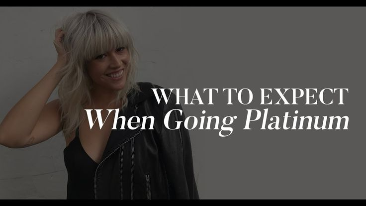What To Expect When Going Platinum Blonde | The Zoe Report by Rachel Zoe