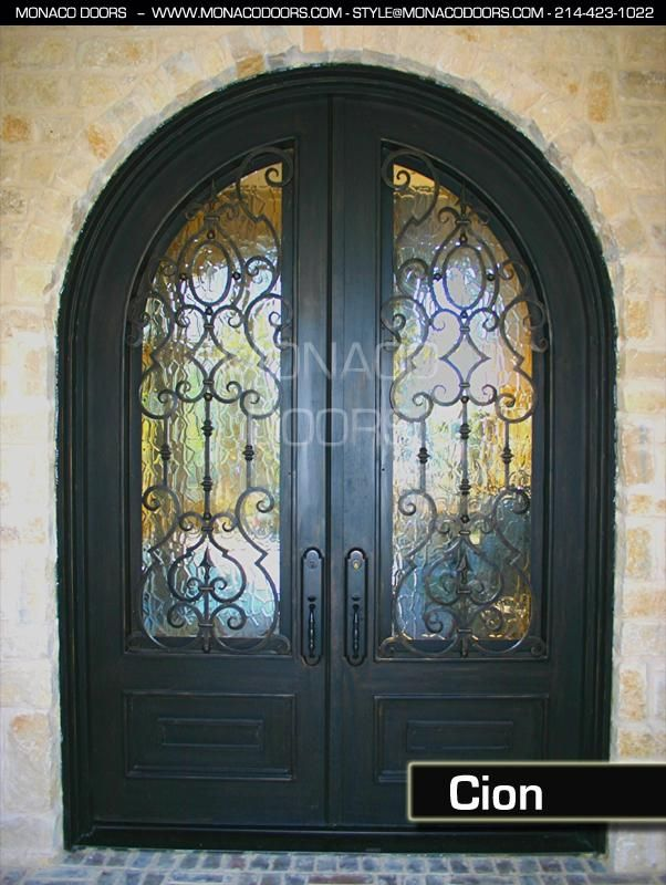 15 best front doors images on Pinterest | Iron fences ...