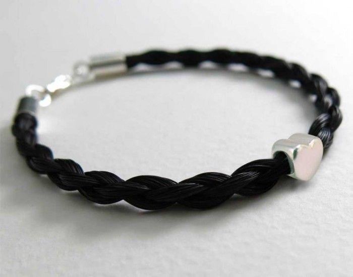 45 Elegant & Breathtaking Horse Hair Bracelets ... Gemosi-Amor-horse-hair-bracelet └▶ └▶ http://www.pouted.com/?p=33473