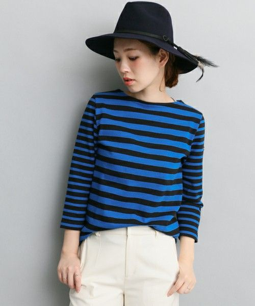URBAN RESEARCH ROSSO(アーバンリサーチロッソ)のROSSO Le minor bask shirt(Tシャツ/カットソー) ブルー系その他