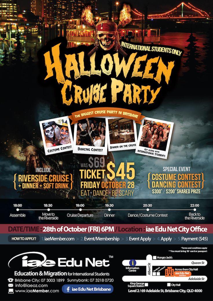 Halloween Cruise Party (28/10/2016)  #iae #studyinAustralia #event #Halloween