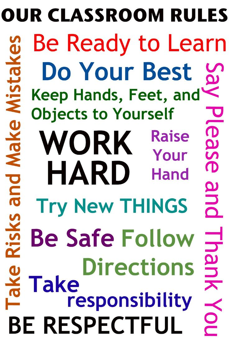 Poster design lesson plan - Classroom Rules Poster Jpg Available Read About It Here