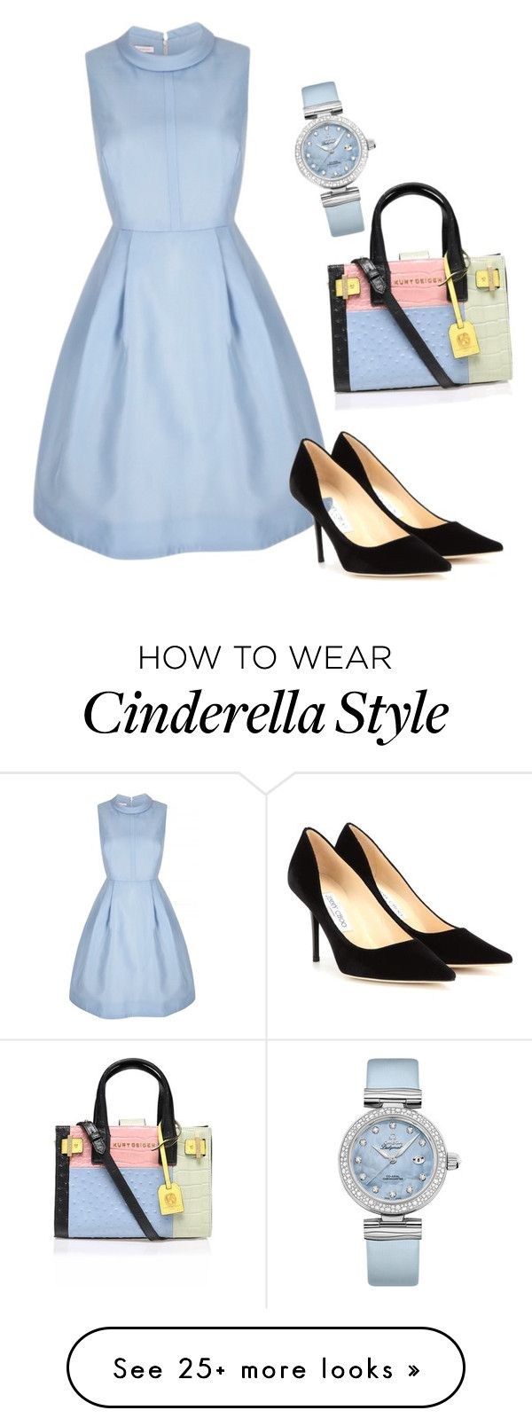 """Untitled #1767"" by ncmilliebear on Polyvore featuring Jimmy Choo, OMEGA, Kurt Geiger, women's clothing, women's fashion, women, female, woman, misses and juniors"