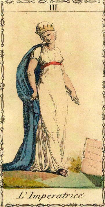 The Empress - Ancient Tarot of Lombardy (l'Imperatrice)