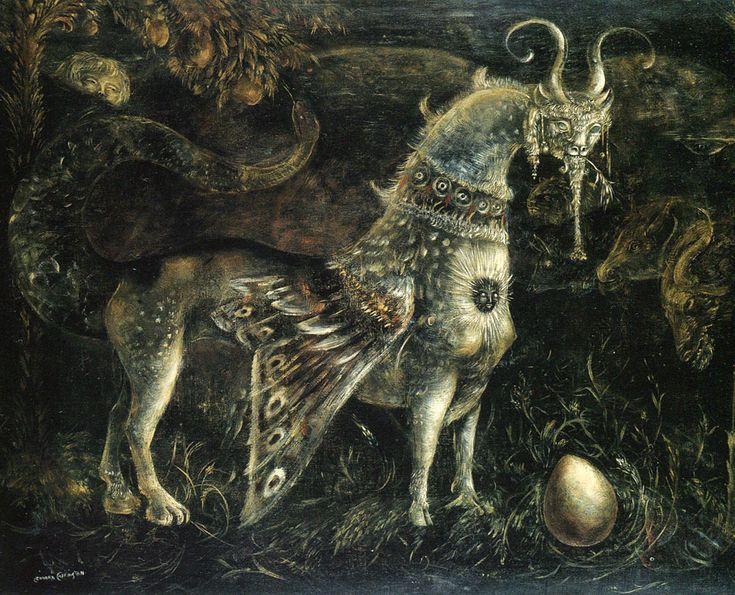 Surrealist Centaur by Leonora Carrington