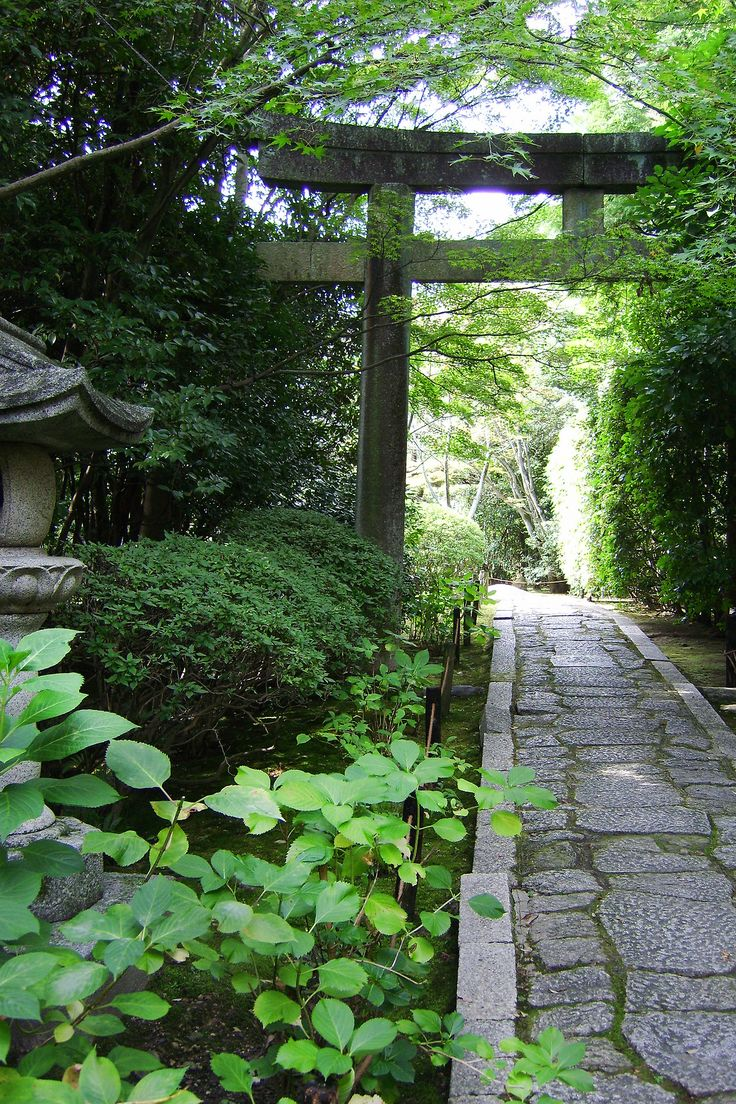 117 best japanese gates fences images on pinterest for Japanese stone garden