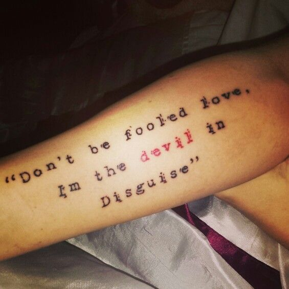 25+ Best Ideas About Devil Tattoo On Pinterest