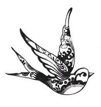Image Search Results for swallow tattoo designs