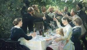 P. S. Krøyer: Hip, hip, Hurra!