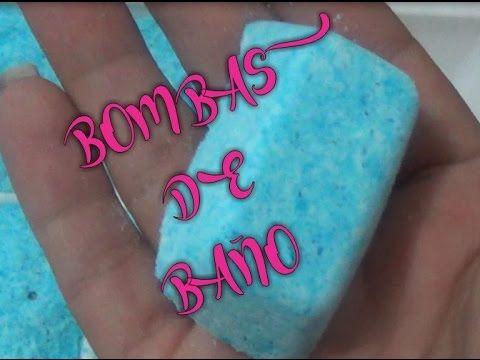 Bombas para limpiar y desodorizar el baño - YouTube