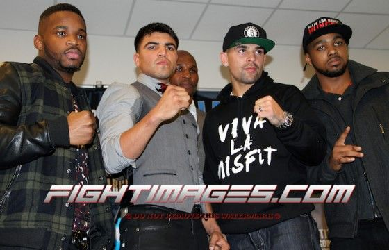 """""""Super Brawl: Victor Ortiz VS. Luis Collazo"""" set for January 30th at the Barclays Center (Photos & VIDEO) - The Pugilist Report™"""