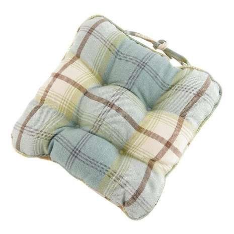 Highland Check Seat pad | Dunelm
