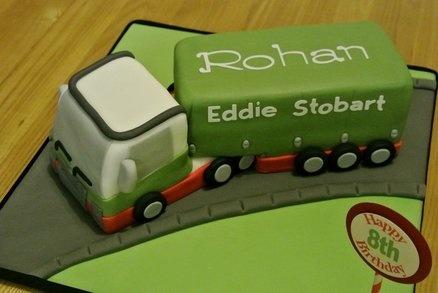 Eddie Stobart Cake Decorations