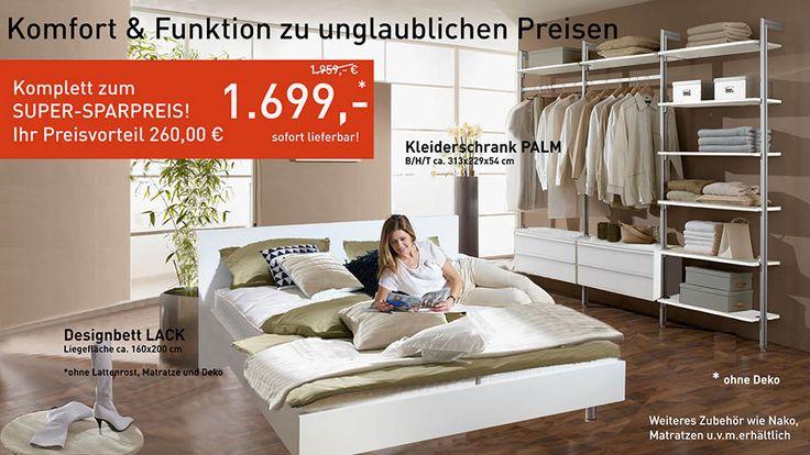 Angebot der Woche!  Gültig bis 25.08.2017. https://www.frank-schranksysteme.de/ #frank_schranksysteme #Kleiderschrank #begehbarer_kleiderschrank #Schlafzimmer #Bett #Doppelbett #Schranksystem #Schranksysteme #Schlafsysteme #Möbel #begehbare_Kleiderschränke #Aktion #Angebot_der_Woche