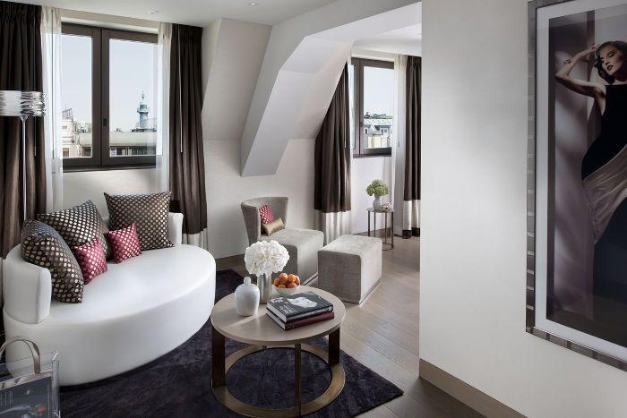 Luxury Paris Accommodation | Duplex Suite | Mandarin Oriental, Paris