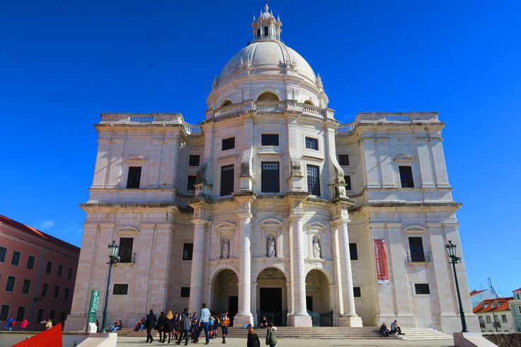 Panteao Nacional http://blog.zingarate.com/mondovagando/lisbona-introduzione/