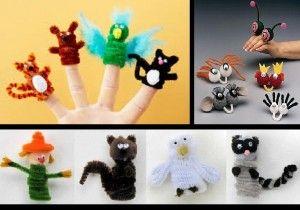 Fabriquer des marionnettes avec des cure-pipe  
