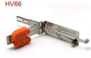 Smart HV66 2 in 1 pick decoder is high quality key opener. Smart HV66 brilliance auto opener is special for brilliance auto. Smart HV66 Locksmith is powerfull and easy to use.