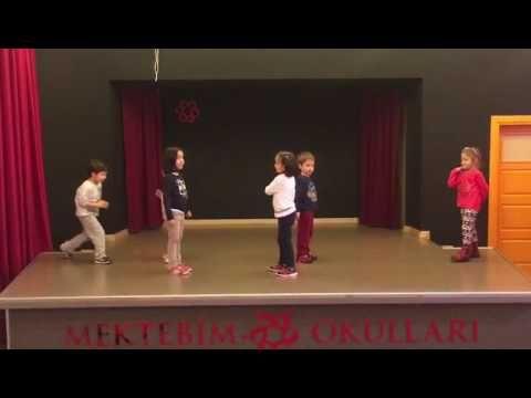 Yengeç Kumda Dur Şarkısı Dansı Orff Şarkısı Tekirdağ Mektebim Okulu Büşra Gençel - YouTube