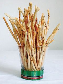 Grissini - Palitos salgados de erva-doce
