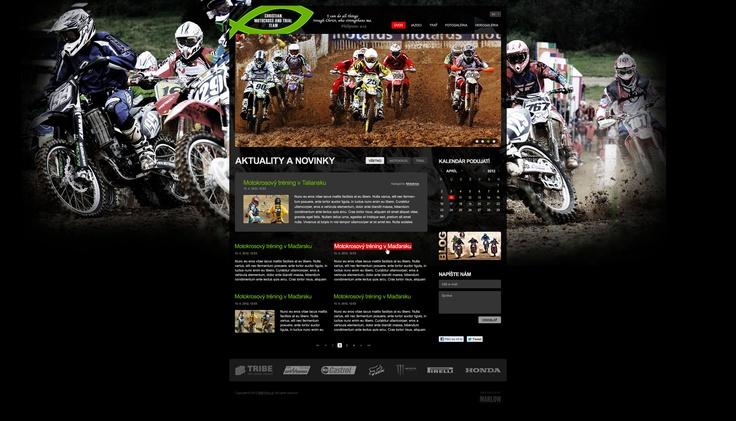 Web stránka pre 3B - Christian Motocross & Trial Team. Viac noviniek na www.marlow.sk