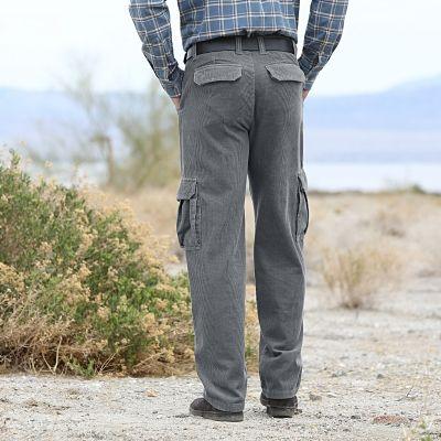 Pantalon battle velours homme - Blancheporte