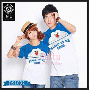 Baju Couple Doraemon Cry Stand By Me Kombinasi