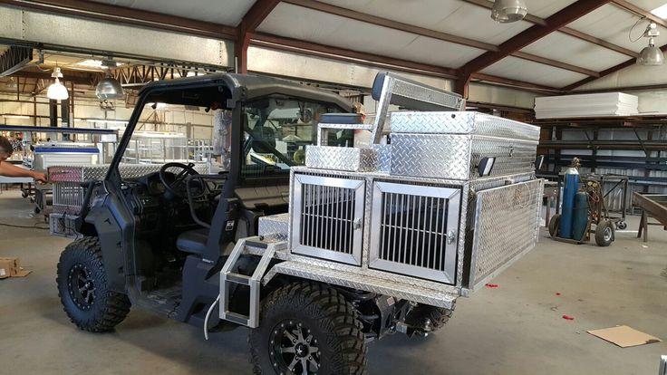 Lifted Polaris Ranger >> UTV dog box hunting rig   Hunting Dog Box - Deerskin Mfg   Pinterest   Dogs, Rigs and Hunting