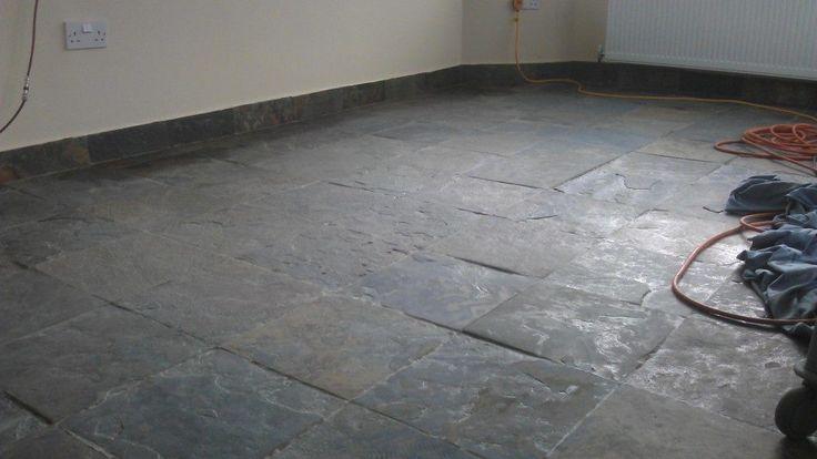 Slate Flooring And Black Slate Floor Ti   Familyhouseco