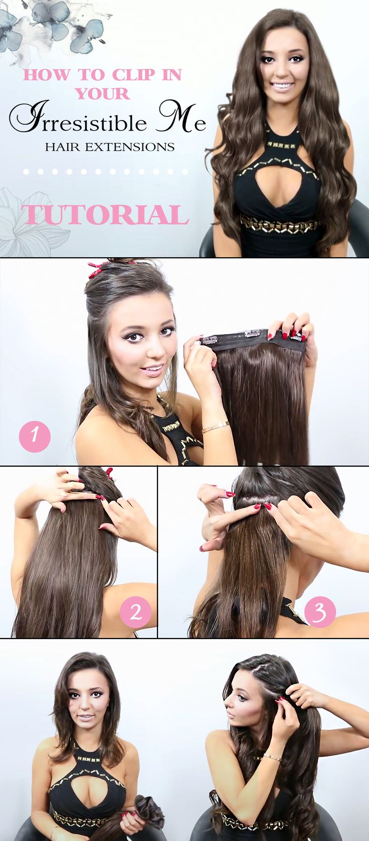 58 best weave me alone images on pinterest hairstyles clip in add instant length and volume to your hair with these human remy clip in hair extensions by irresistible me can be colored cut and heat styled pmusecretfo Images