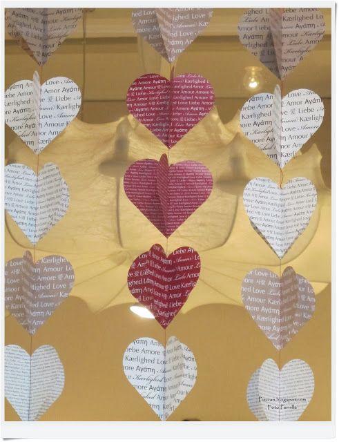 Piazzan: DIY - Dekoration till alla hjärtans dag