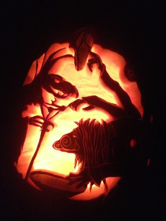 The dark crystal pumpkin by kirsten gometz halloween