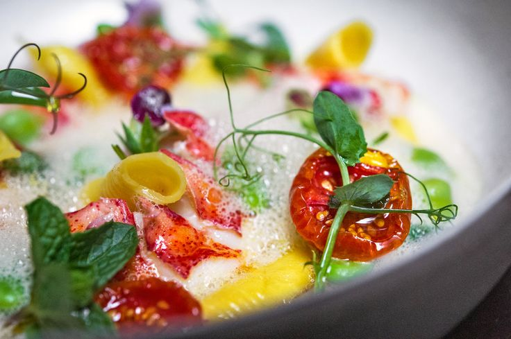 The Top 12 Restaurants of 2012 - Slide Show - NYTimes.com From the NoMad: Lobster minestroe with tomatoes, string beans, peas and quills of handmade garganelli in a light broth.