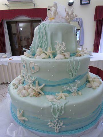 Oltre 25 fantastiche idee su matrimoni a tema spiaggia su for Decorazioni torte tema mare