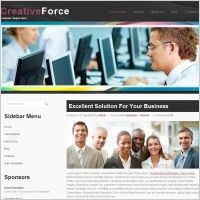 Creative Force Template | Web Design Maryland | #Webdesign #websitedesign #web #WebDesignMaryland