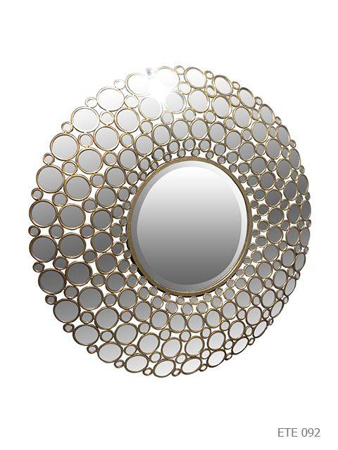 b2b luminaires miroirs miroirs miroir rond 39 paon 39 mirrors. Black Bedroom Furniture Sets. Home Design Ideas