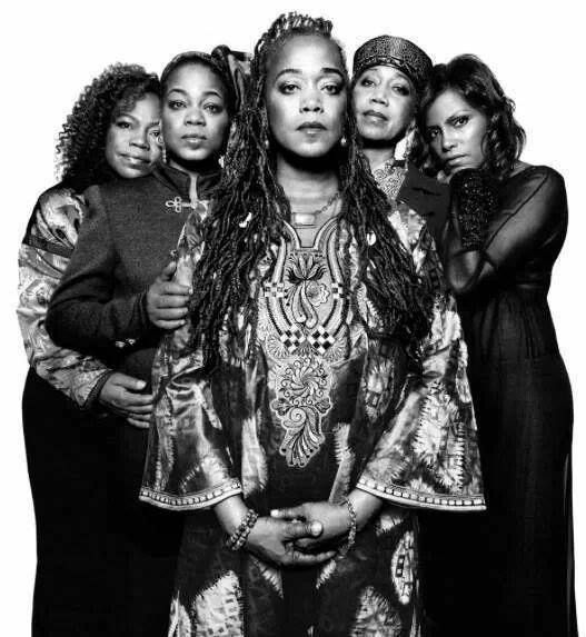 The beautiful daughters of Malcolm and Betty Shabazz.