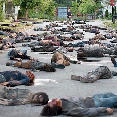 Hot: The Walking Dead premiere director Greg Nicotero on the 'murder catwalk'