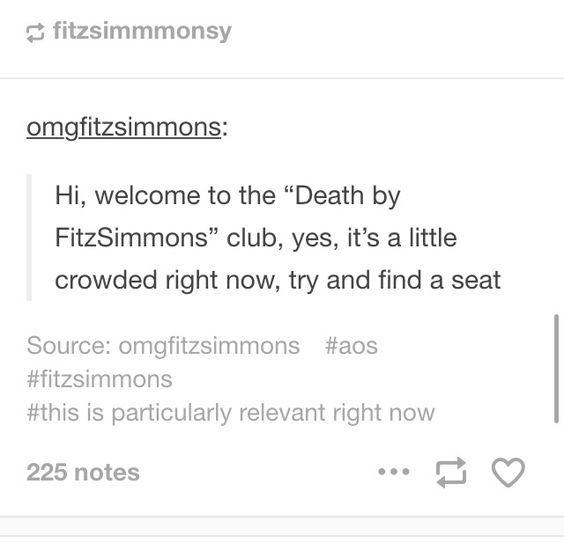 Agents of Shield season 4. A summary. FitzSimmons