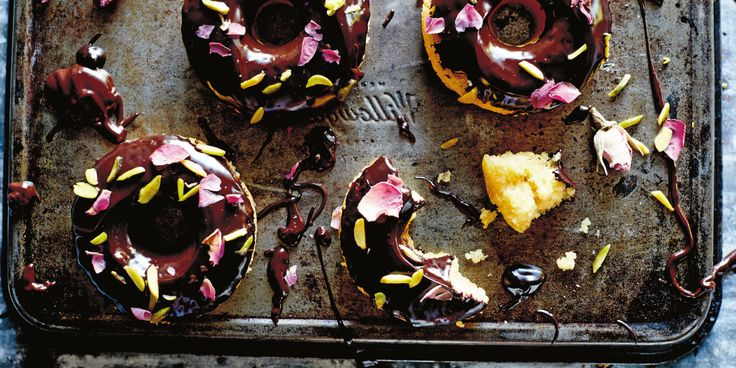 I Quit Sugar: Almond Rosewater and Chocolate Donut Cakes